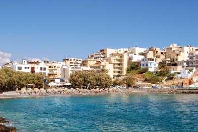 Пляж Китроплатия, Агиос Николаос