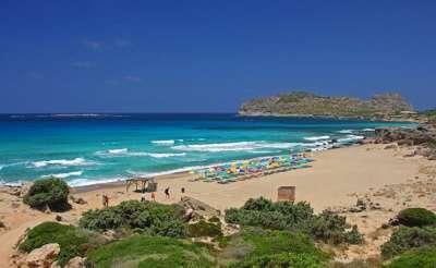 Пляж в Фаласарне