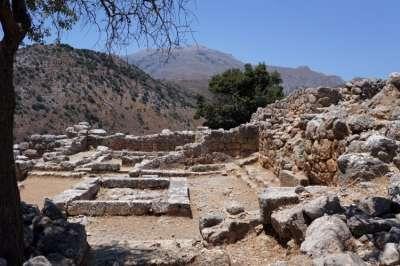 Руины древнего Лато