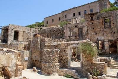 Руины лепрозория на Спиналонге
