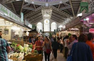 Рынок Атаразанас. Малага