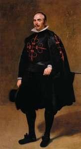 Рыцарь ордена Калатравы. Автор Д. Веласкес