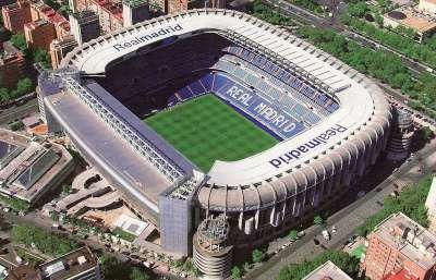 Сантьяго Бернабеу - домашний стадион Мадридского Реала
