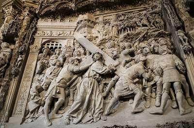 Скульптурные композиции Бургосского Собора