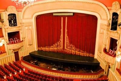 Сцена в театре Сарсуэлы