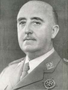 Франсиско Франко, организатор переворота 1936 года