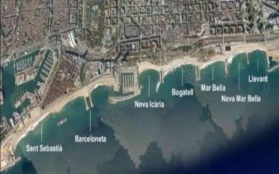 Все пляжи Барселоны