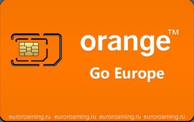 Карта мобильного оператора Оранж