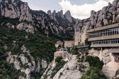 Монастырь Монсеррат. Вид со смотровой площадки