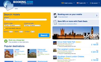 Кэшбек на booking.com