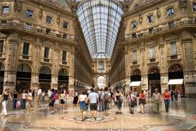 Покупки в Милане
