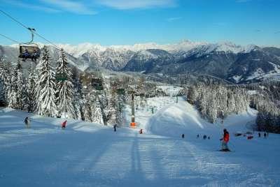 Горнолыжный курорт в Словении