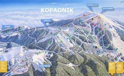 Курорт Копаоник: трассы