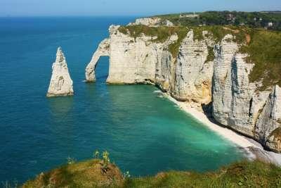 Белые скалы Нормандии