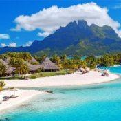 Песчаные-пляжи-острова-Бора-Бора